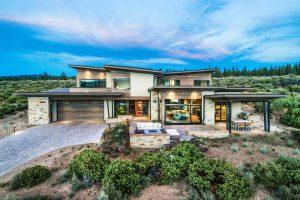 Shevlin Modern Butterfly Architects Central Oregon
