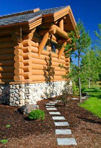 Log Home Bend Oregon